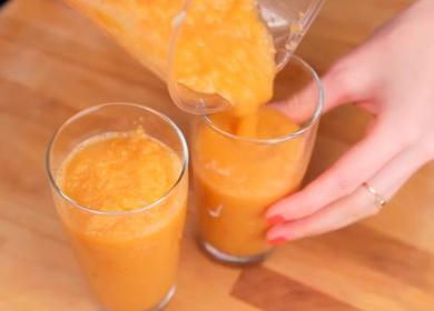 Рецепт морковного смузи 🥝 для блендера