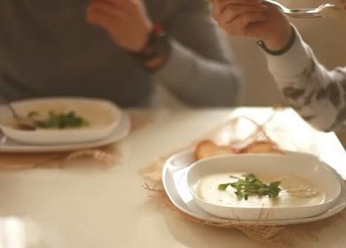 Ароматный и очень вкусный 🥝 крем-суп — простой рецепт