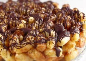 готовим простой торт из кукурузных палочек