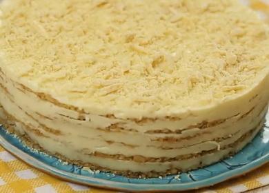 Нежный торт «Пломбир» 🥝 — простой рецепт