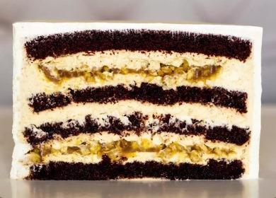 Торт «Сникерс» с кремом 🥗 чиз