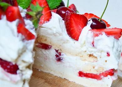Рецепт вкусного торта 🥝 Павлова