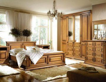 Плюсы мебели из массива