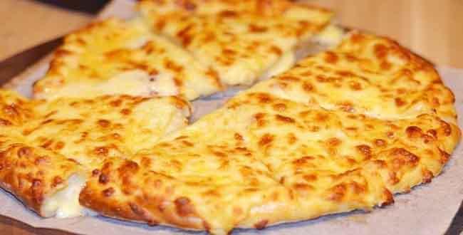 Хачапури с сыром в духовке 🥝 на сковороде