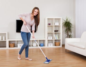 Как поддержать в квартире чистоту