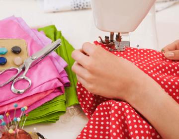 Как научиться шить одежду?