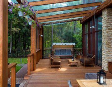 Строительство террасы: идеи и нюансы