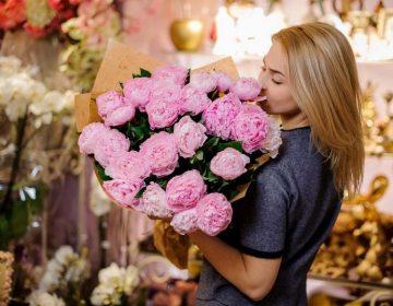 Покупка цветов в интернете. В чем плюсы?