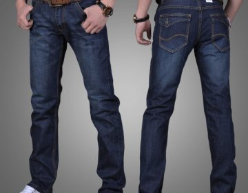 Как определить размер мужских джинсов