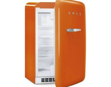 Холодильники в ретро-стиле от компании SMEG